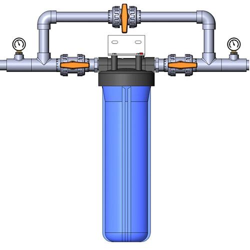 Подключение магистрального фильтра воды bb20 к водопроводу